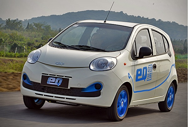 китайский автомобиль Chery QQ EV