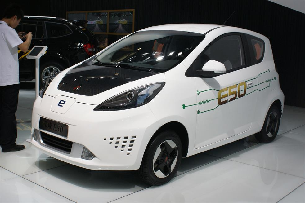китайский автомобиль MG