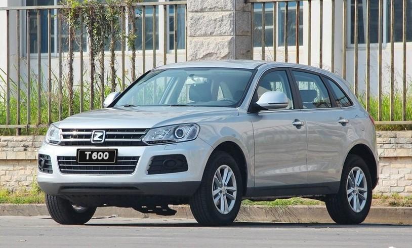 китайский автомобиль Zotye-T600