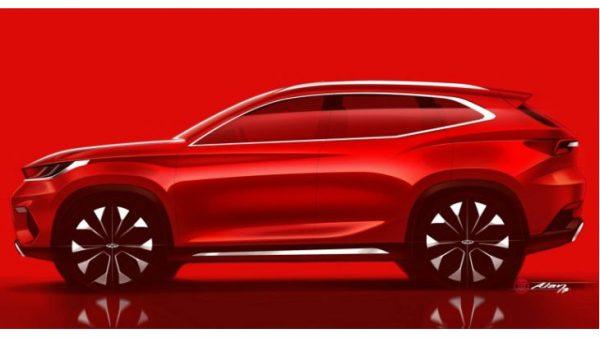Chery представит новый внедорожник на автомобильной выставке, во франкфурте 2017