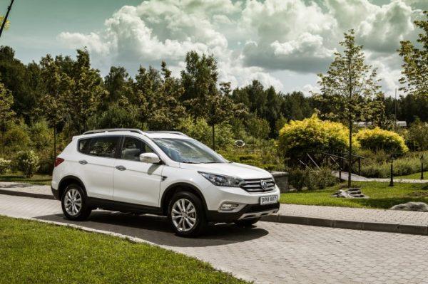 Тест-драйв DONGFENG DFM AX7, китайские автомобили, chinamobil.by
