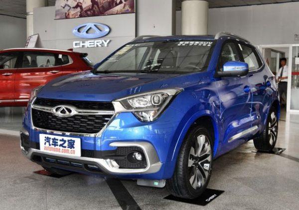 В Китае стартовали продажи нового кроссовера Chery Tiggo 5x, chinamobil.by