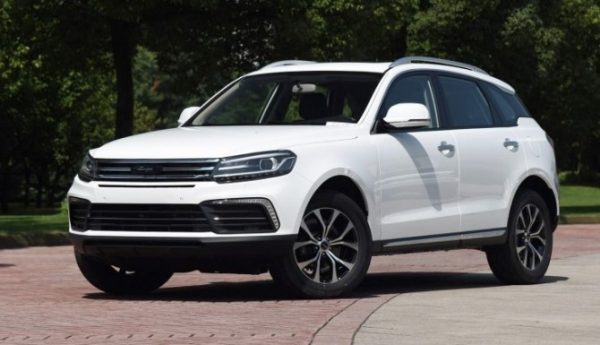 Zotye запустят продажи нового кроссовера T600 Coupe, китайские автомобили в минске