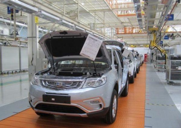Белорусско-китайский кроссовер Geely Atlas, улучшается локализация производства