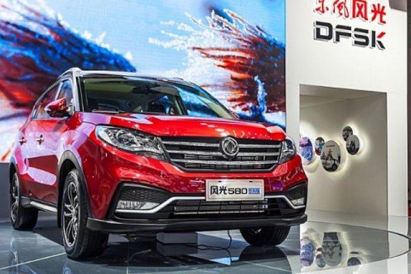 DongFeng Motor, DFM, новый кроссовер