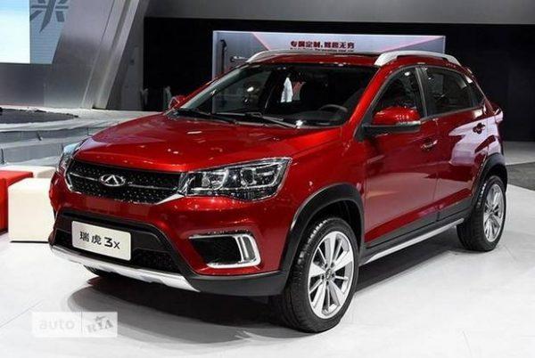 chery tiggo, топ продаваемых китайских автомобилей
