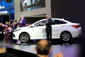 Chery Arrizo на автовыставке в Пекине 2018
