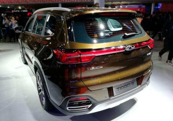 Chery показал новые модели на автосалоне в Пекине 2018