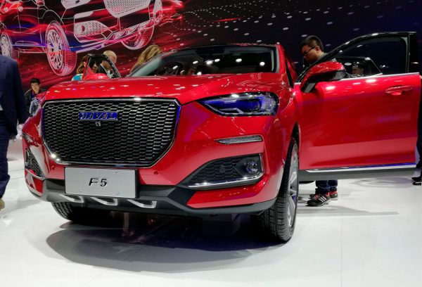 Haval F5, новый кроссовер бренда Great Wall