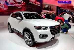 Обновленная модель Haval H6 на автосалоне в Пекине 2018