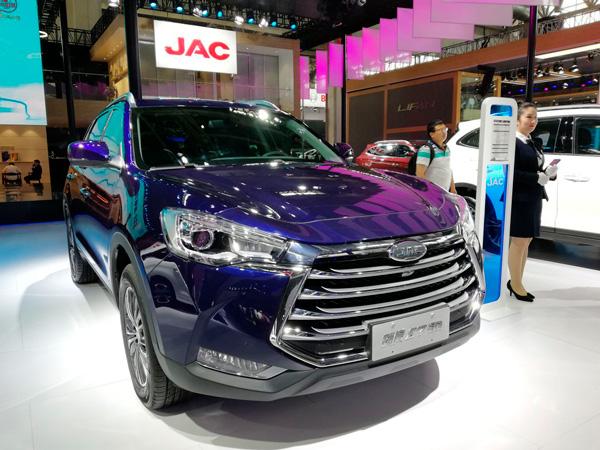 JAC S7 на Пекинском автосалоне 2018