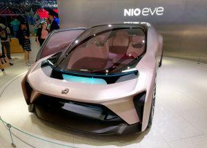 NIO EVE - концепт авто в Пекине 2018