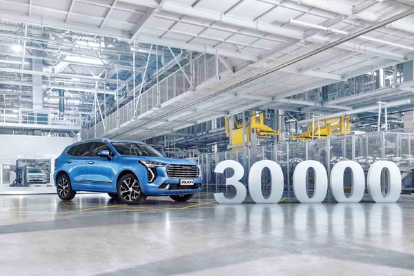 Завод Haval в России отметил двухлетие выпуском 30 000-ого автомобиля